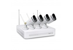 Foscam FN3104W-B4 720P WiFi security camera system